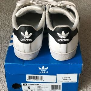 Adidas SuperStar Shoes Size 7 1/3
